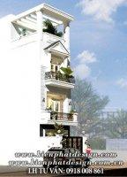 Mẫu Nhà Phố 3 Tầng Tân Cổ Điển tại Gò Vấp TPHCM