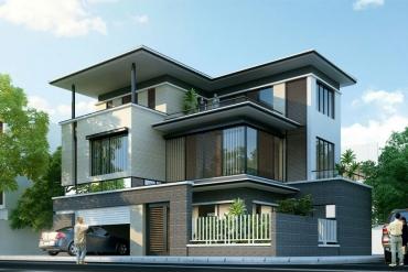 Mẫu nhà phố| Mẫu nhà phố hiện đại| kienphatdesign.com
