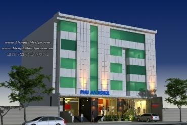Mẫu khách sạn hiện đại 6 tầng tại Gò Vấp TPHCM