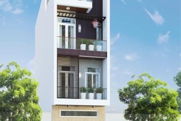 Mẫu nhà phố hiện đại 3 tầng tại Quận Gò Vấp TP.HCM