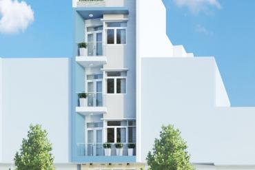 Mẫu nhà phố hiện đại 4 tầng tại Quận Phú Nhuận TPHCM