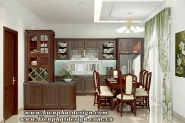 Mẫu nội thất phòng bếp