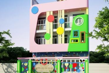 Mẫu trường mầm non Hoa Mai tại Quận Bình Tân