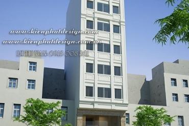 Mẫu khách sạn hiện đại 8 tầng tại Quận 10 TPHCM