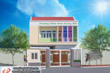 Mẫu thiết kế trường Mầm Non Trảng Dài tại Đồng Nai