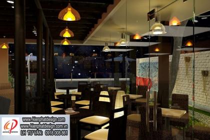 Thiết kế quán café TINO Thủ Đức