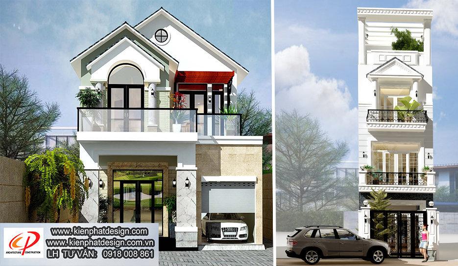 Thiết kế nhà phố, biệt thự